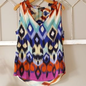 Renee C sleeveless blouse from Stitch Fix Large